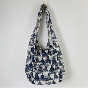 Free People Reusable Triangle Hobo Bag